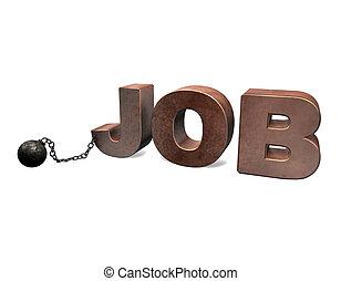 métier, esclave,  3D
