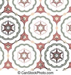 vintage color ethnic ornament - Lace floral colorful vintage...