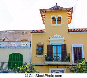 Majorca Porto Cristo facade in Manacor at Mallorca - Majorca...