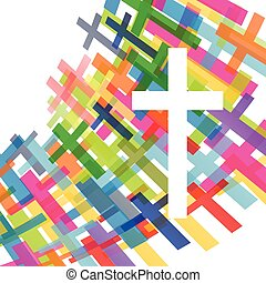 Christianity religion cross concept