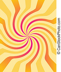 Abstract colour lines.Vector illustration
