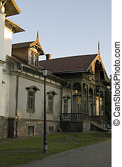 Abandoned estate - In 19th century this was the estate of...