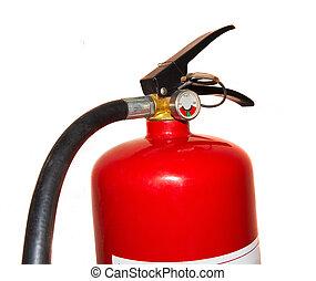 fuego, Extintor