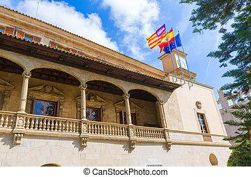 Palma de Mallorca Consulado de Mar near Lonja - Mallorca...