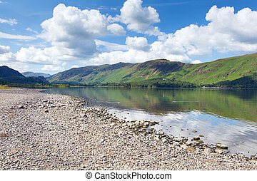 British Lake District Cumbria UK - British Lake District in...
