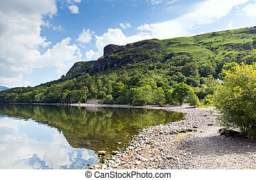 Barrow Bay Derwent Water summer - Barrow Bay Derwent Water...