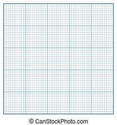 Vector square engineering graph paper with 5 metric...
