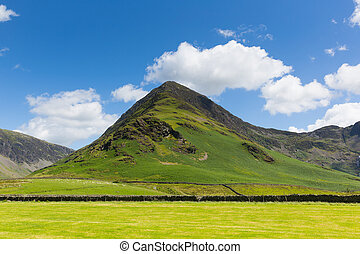 Fleetwith Pike mountain Buttermere English Lake District...