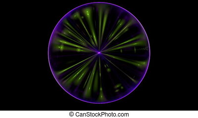 Pulsation colored star - Pulsation brightly colored star....