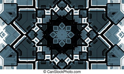 monochrome geometric shapes - Bright monochrome geometric...