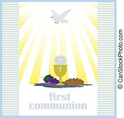 il, santo, Eucaristia,