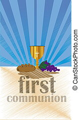 First Holy Communion - ceremony held in the Latin Church...