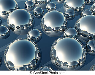 Half Ball Background - An abstract background made out of...