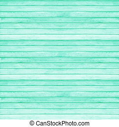 Wooden wall texture background, Lucite green pantone color -...