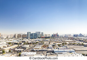 Las Vegas, Nevada, USA - Panorama of Las Vegas, Nevada, USA