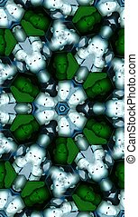 Seamless Pattern Of Heads In Cells