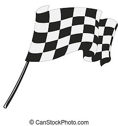 checkered flag racing