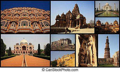COLLAGE OF INDIA
