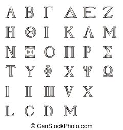 Greek Letters and Numbers - The letters of the Greek...
