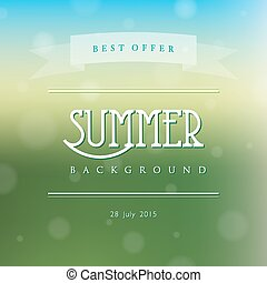 Creative abstract vector natural background - Creative...
