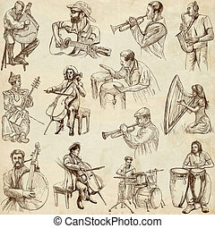 Music around the World - From series: MUSIC and MUSICIANS...
