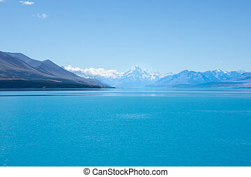 Lake Pukaki, stunning scenery - Lake Pukaki, stunning New...