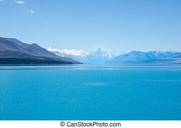 Lake Pukaki, stunning scenery - Lake Pukaki, stunning New...