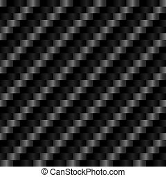 Seamless Carbon Fiber Texture - Reflective highly detailed...
