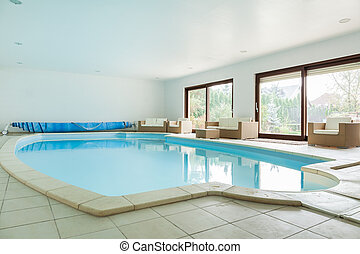 Swimming pool - Big swimming pool in luxury residence