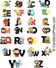 Character Letter VectorSet