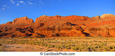 Vermilion cliffs near Page Arizona