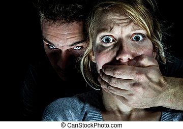 Woman Victim put to Silence by her Boyfriend - Domestic...