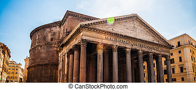 Pantheon, Rome - Pantheon in Rome One of the main landmarks...