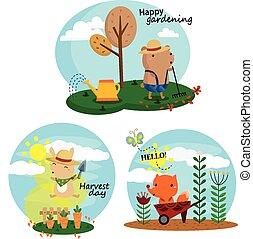 Gardening Vector Set