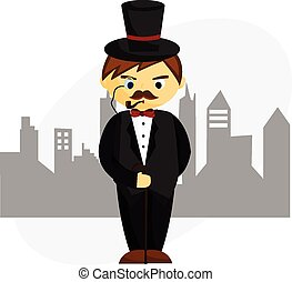 Gentleman Clipart and Stock Illustrations. 26,456 Gentleman vector ...