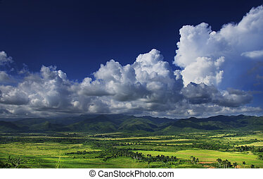 Sierra del Escambray, cuba - A view of Sierra del Escambray...