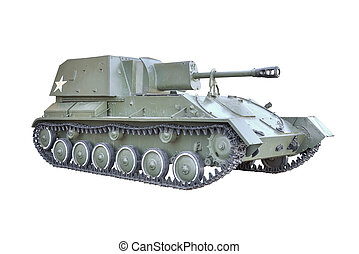 Soviet self-propelled gun - Artillery Soviet self-propelled...