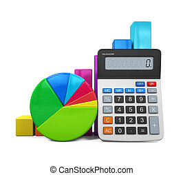 Calculator with Graph and Chart