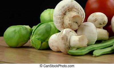Vegetables All Together Mushrooms