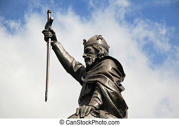 King Alfred The Great Statue - King Alfred The Great's...