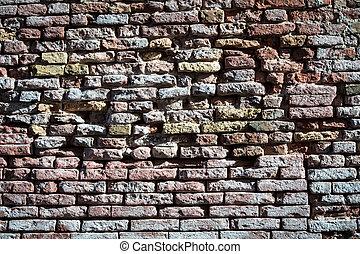 old brick wall - Old brick wall great fo