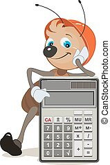 Ant superintendent shows calculator - Ant superintendent...