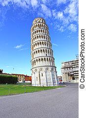 Leaning Tower of Pisa - The Leaning Tower of Pisa in Italy