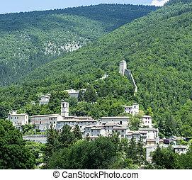 Castelsantangelo sul Nera Marches, Italy - Castelsantangelo...