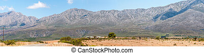 Swartberg Black Mountain Pass panorama - SWARTBERG PASS,...