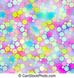 festive bubbles pattern - seamless texture of foam like dots...