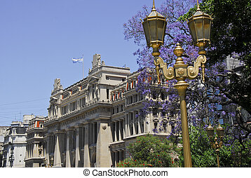 Tribunales court house - Court House palace in Buenos Aires,...