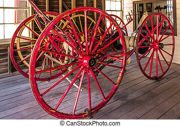 The Sovereign Hill - The Old Fire Truck