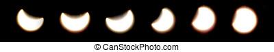 Solar eclipse serial 1 - Astronomical phenomenon, a partial...