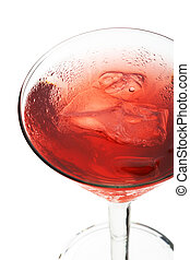 Cosmopolitan - Alcoholic Cocktail made of Gin Cointreau,...